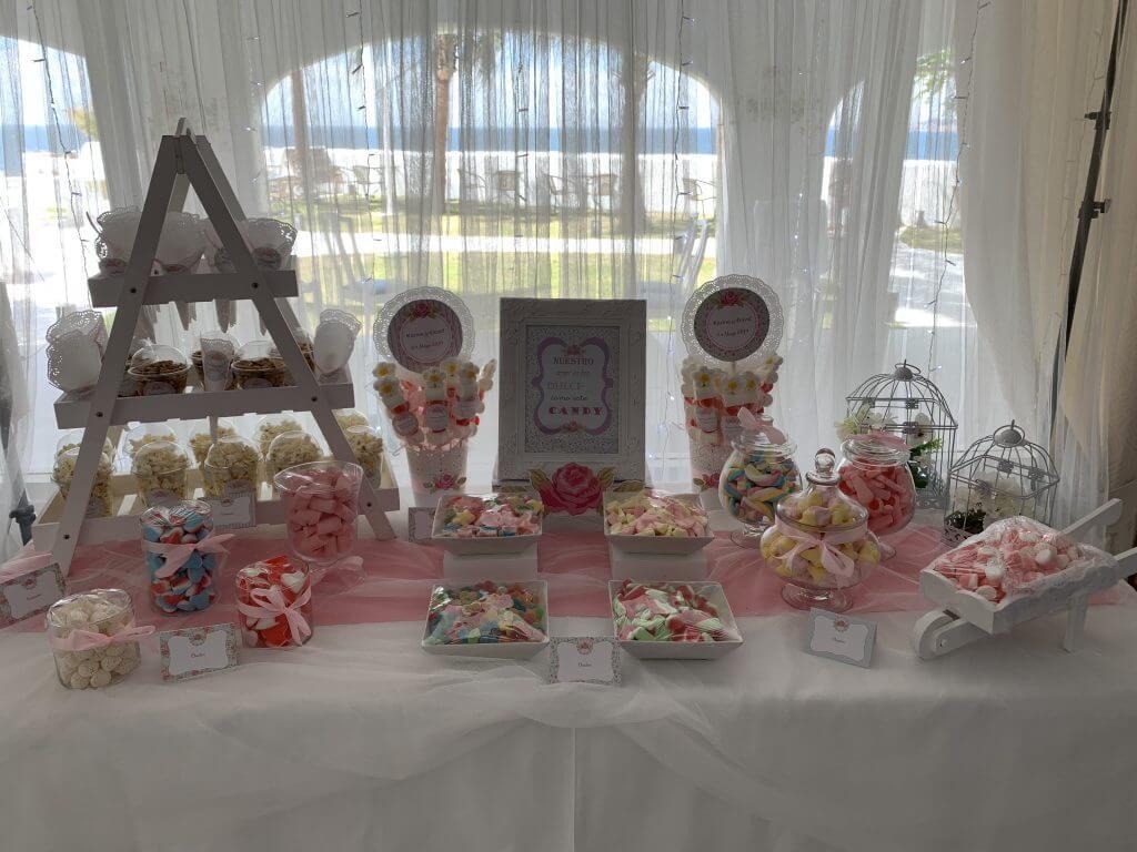 mesa chuches para bodas