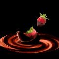 Que tipo de frutas pueden cubrirse con chocolate?